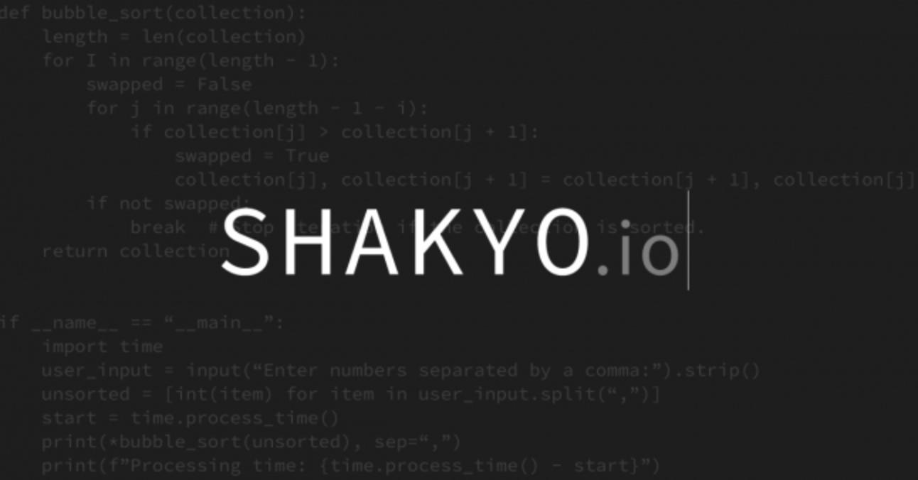 SHAKYO.io