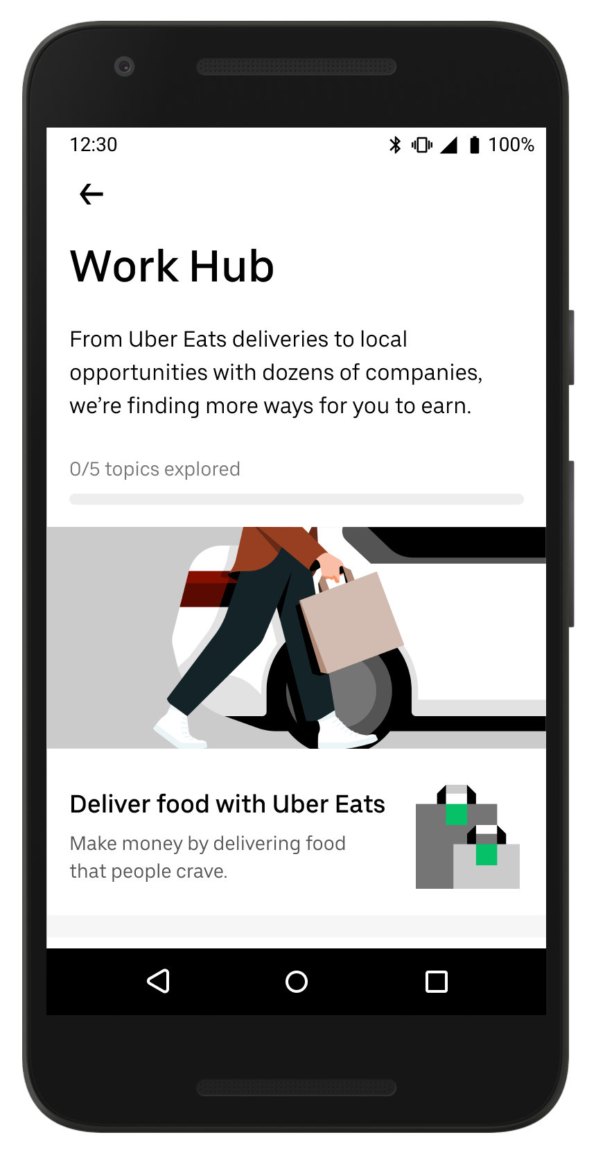 WorkHub uber