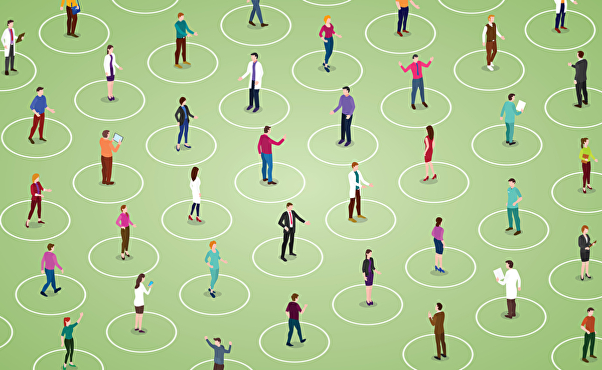 どうすれば2メートルを保てる? 世界のユニークな「ソーシャル・ディスタンス」のアイディア | AMP[アンプ] - ビジネスインスピレーションメディア