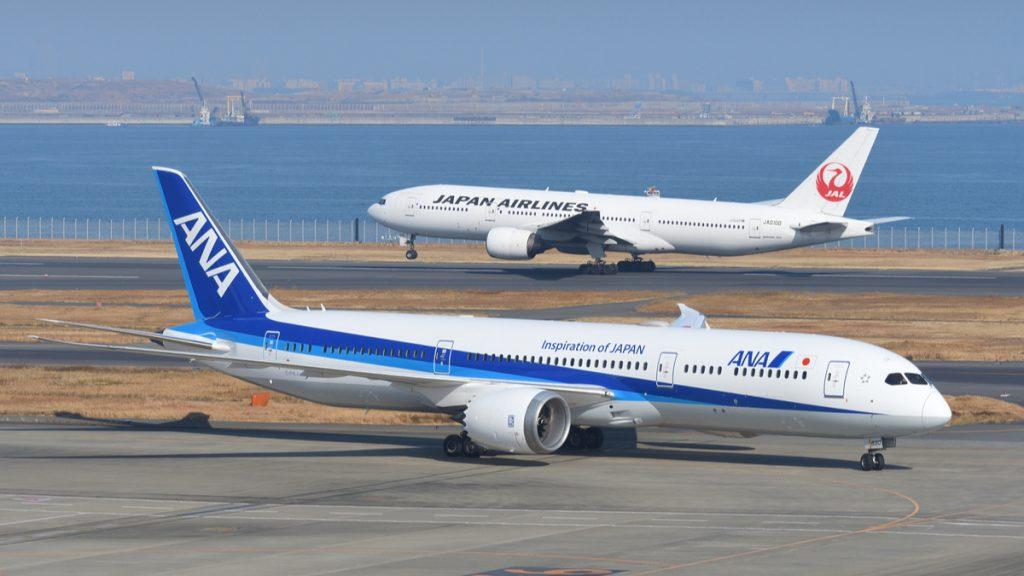 航空各社 JAL ANA