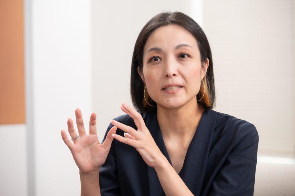 宣伝部メディア・クリエイティブ企画室室長 合澤智子氏