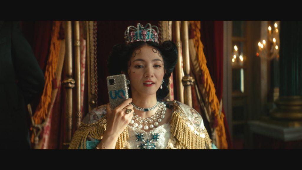 CMでは満島ひかりさん演じる「UQUEEN」が直接的な表現でメッセージを発信している。