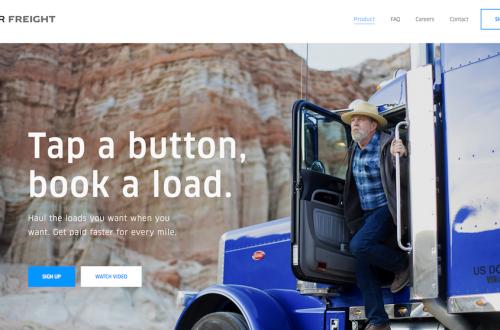 Uberの新サービス「Uber Freight」はトラック運転手の抱える課題を解消する