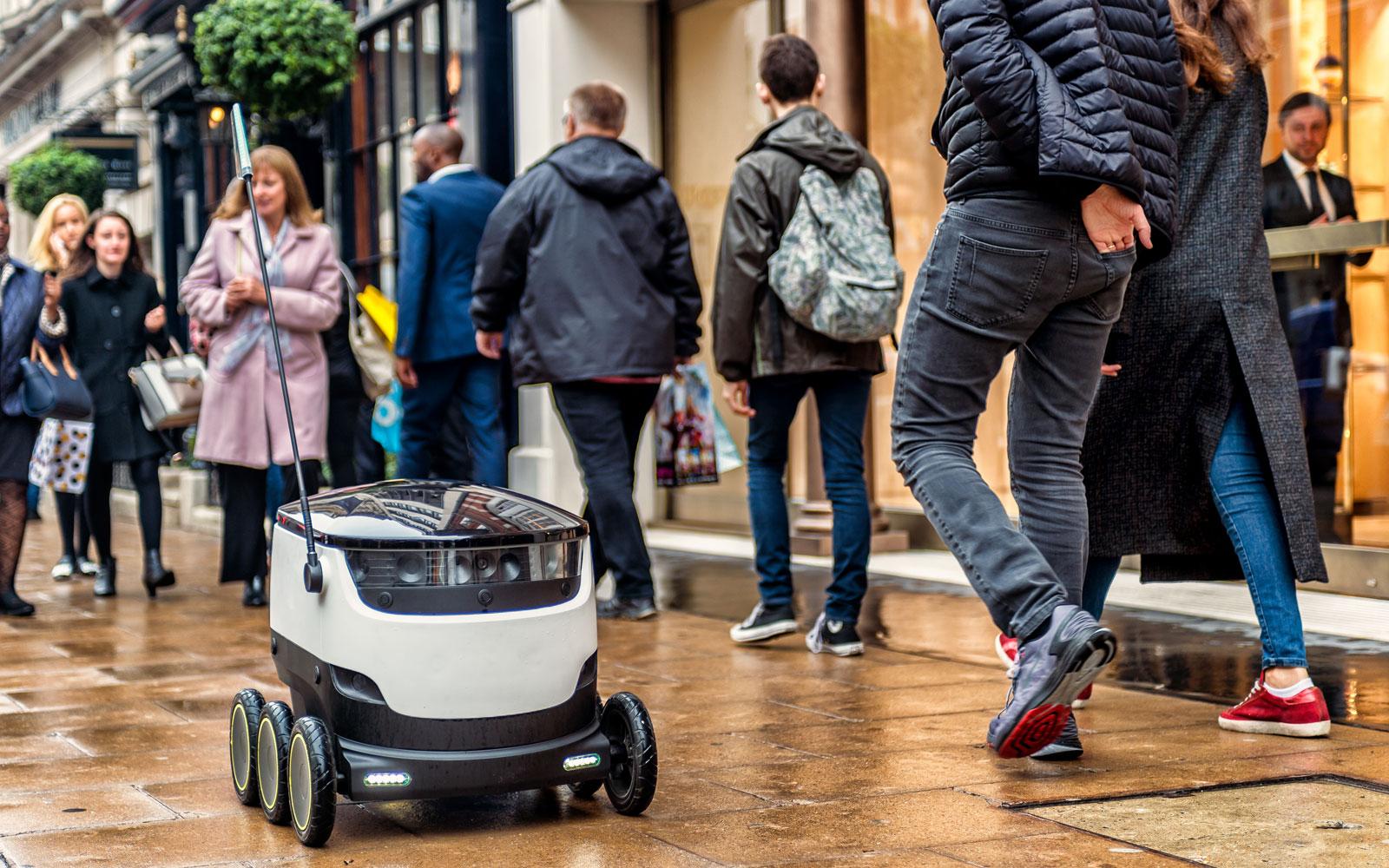 配送問題はロボットが解決する。路上デリバリーロボットの可能性