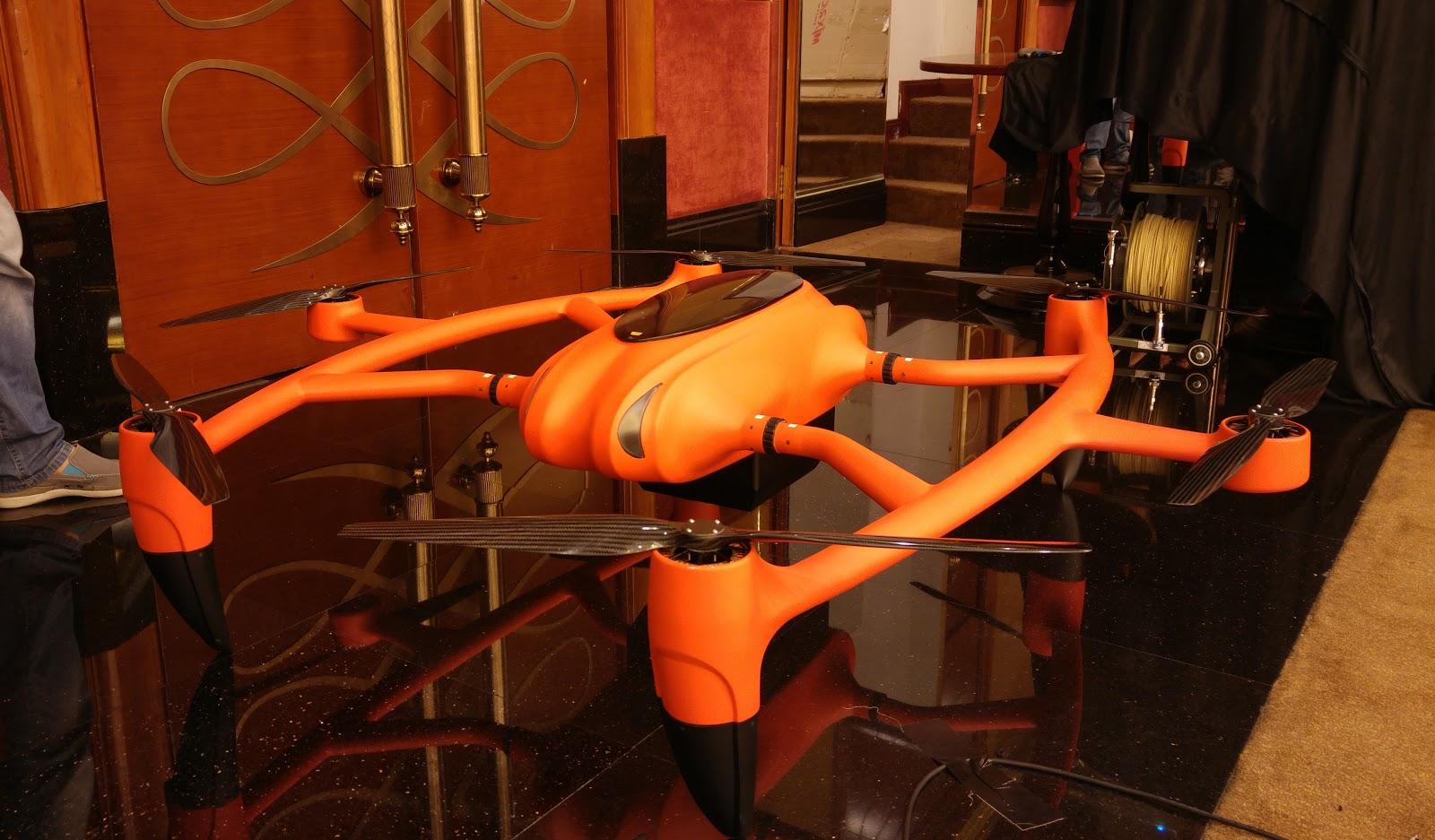 水素燃料ドローンも登場。代替動力源で飛行時間を拡大できるか