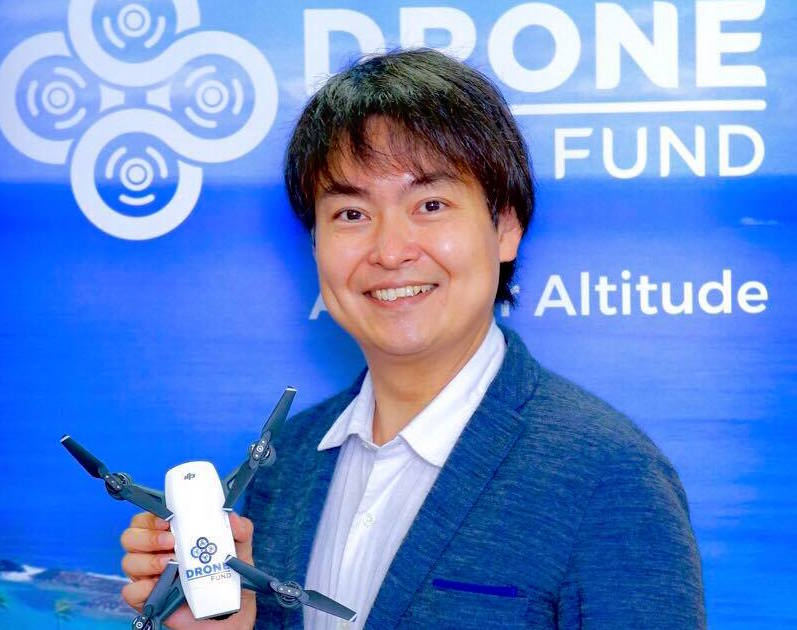 日本が世界をけん引できる可能性、千葉功太郎が「ドローンファンド」をつくった理由
