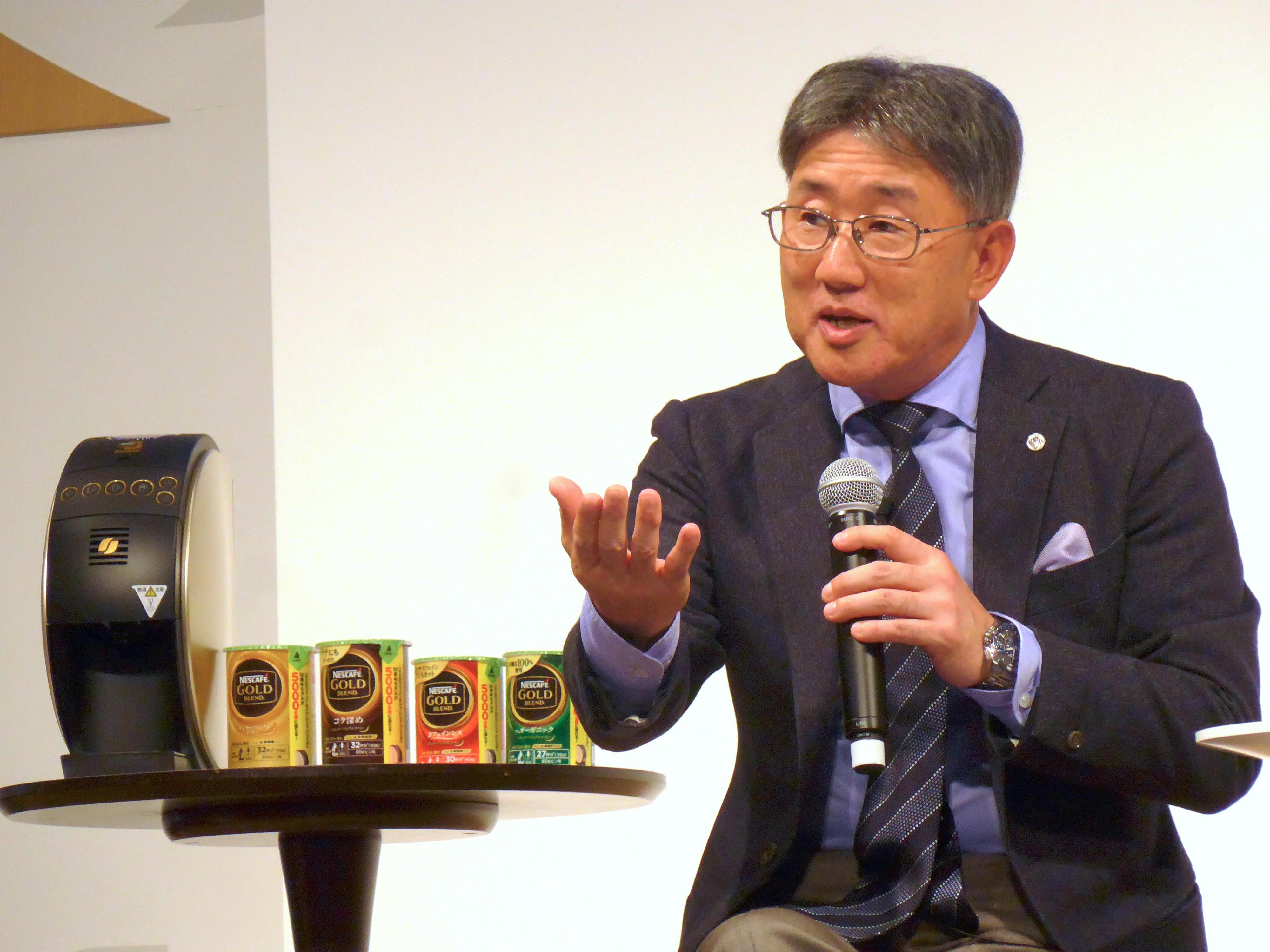 """「顧客の問題を発見すること」ネスレ日本・高岡浩三CEOが語る""""イノベーションの起こし方"""""""