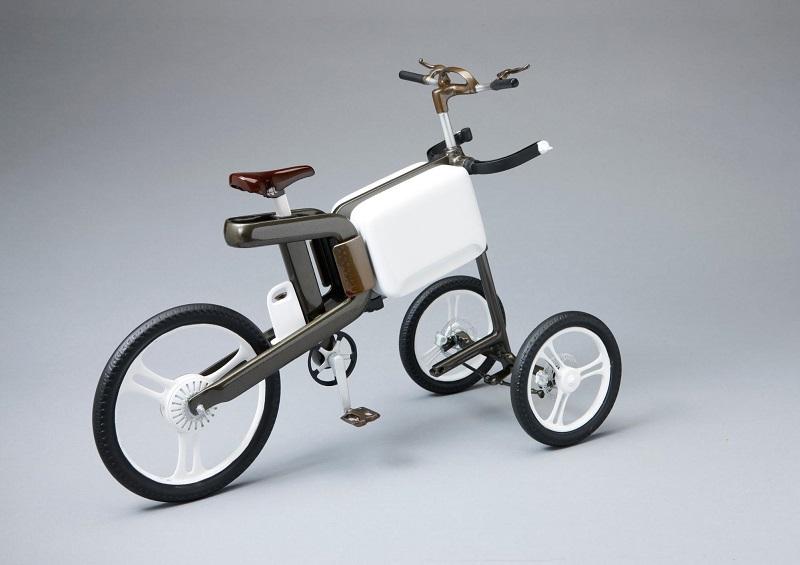 自転車は「ビーチ」にも適応して進化する。パラソル、冷蔵庫、充電器まで備わった次世代バイクのコンセプト