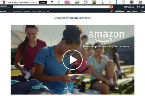 アマゾン、フェイスブックが「10代」にアプローチ、次世代市場でデジタル戦開始