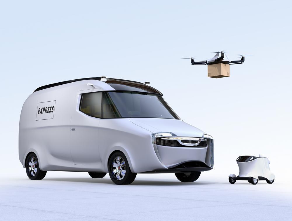 ローソンが「配送ロボットの実証実験」を福島県で!無人配送に向け日本郵便と連携し、実現化を図る