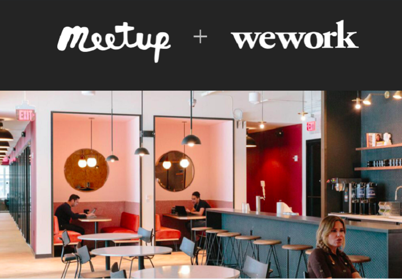 競争が激化する「コミュニティ」市場。WeWorkはMeetupを買収してオフラインを強化