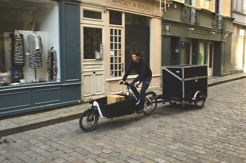 ミニバンと同量の荷物を運ぶ自転車デリバリーサービスが登場。都市の物流はさらに変わる?