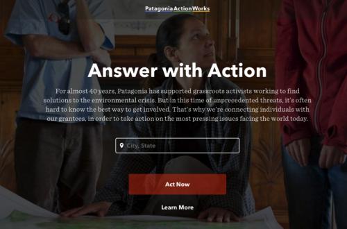 パタゴニア、顧客と自然保護団体のマッチングサイトを公開ーー企業は今、社会的なビジョンを求められている