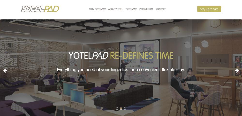 Airbnbでも埋められなかったミレニアル世代のニーズとはーー期待集まる「YotelPad」