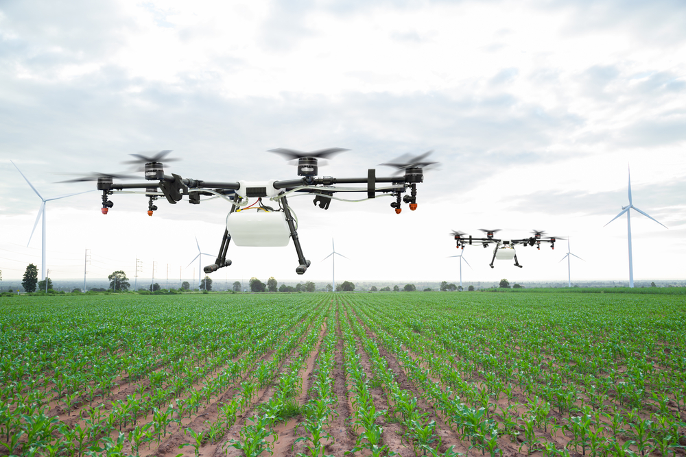 ドローンで農産物の生育管理。葉色解析クラウドサービス「いろは」による農業のアップデート