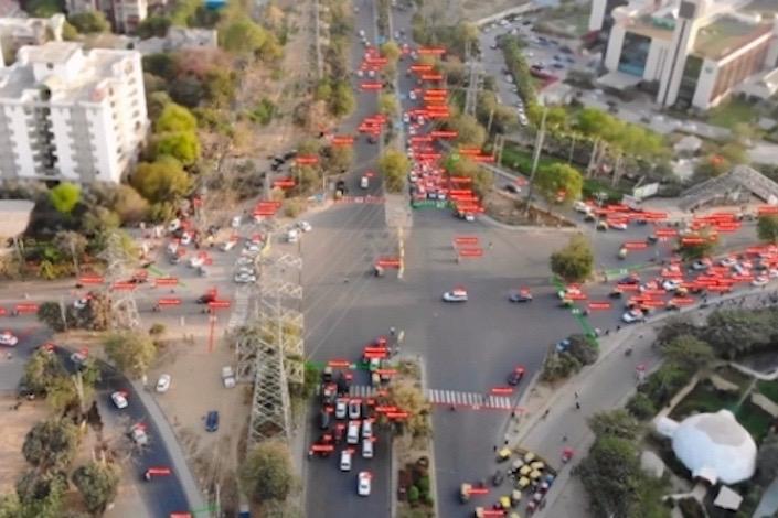 交通量計測がドローンで可能に。AIの自動認識で広域調査の実現、人件費の大幅削減に寄与