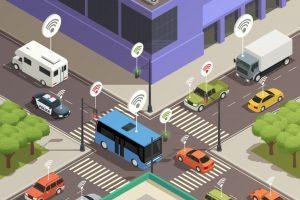 """自動運転支援サービスの「先読み情報」が高齢者の安全を確保する、OKIの"""" 路側センシング """""""